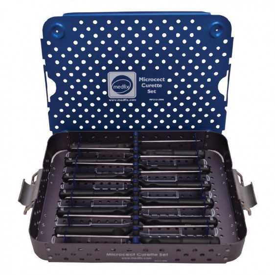 Microcect Style Cervical Micro Curette Set